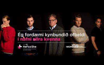 UN Women IJsland; geweld is dichterbij dan je denkt