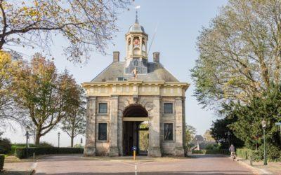 De gemeente Enkhuizen doet met drie gebouwen mee met Orange the World