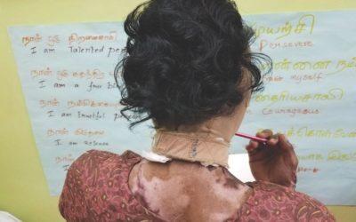India: voortzetten hulp aan overlevenden van verbranding door Trust Fund
