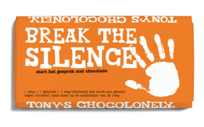 Tony's Chocolonely Orange the World repen